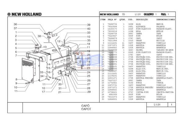 7D Tractor Part Catalog