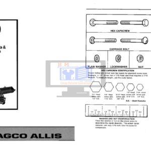 Agco Allis 1900 Series Parts Manual