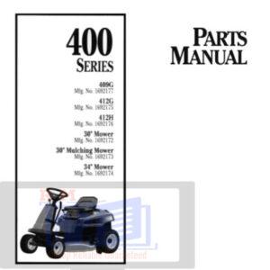Agco Allis 400 Series Parts Manual