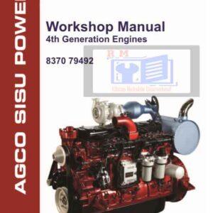 Agco Sisu Power 4th Gen Engine Workshop Manual