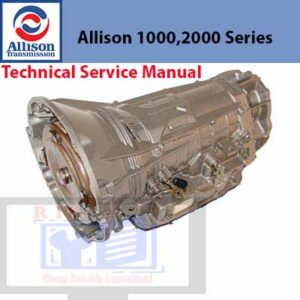Allison 1000, Allison 2000 Series Technical Service Manual