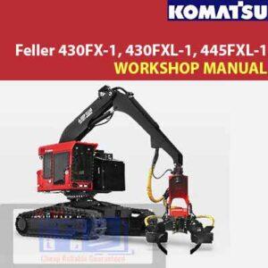 Komatsu Feller 430FX-1, 430FXL-1, 445FXL-1 Workshop Manual