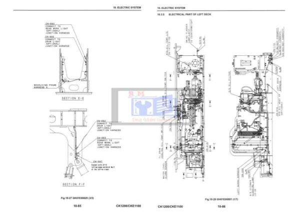 CKE1100 Crawler Crane