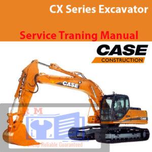 Case CX Series Excavator Service Training Manual