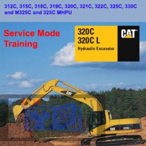 Caterpillar 312C to 330C Excavator – Service Mode Training