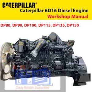 Caterpillar 6D16 Diesel Engine Service Manual