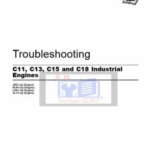 Caterpillar C11, C13, C15, C18 Engine Troubleshooting Manual