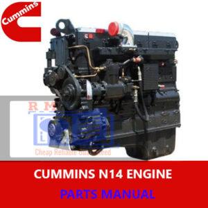 Cummins N14 Engine Parts Manual
