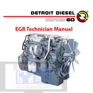 Detroit Diesel series 60 EGR Technician Manual