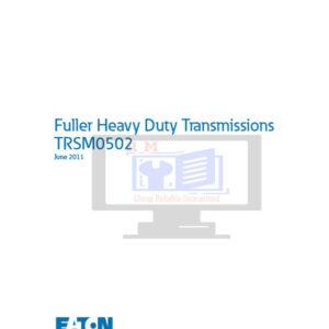 Eaton Fuller RT910 RT915 TRSM0502 Service Manual