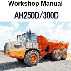 Hitachi AH250D , AH300D Articulated Dump Workshop Manual