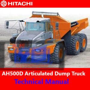 Hitachi AH500D 6×6 Articulated Dump Truck Technical Manual