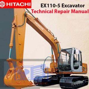 Hitachi EX110-5 Excavator Technical Repair Manual