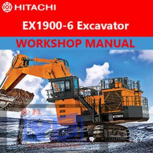 Hitachi EX1900-6 Mining Excavators & Shovel Workshop Manual