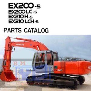Hitachi EX200 EX210 -5 Parts Manual