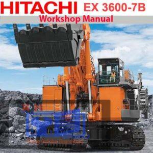 Hitachi EX3600-7B Mining Excavators & Shovel Tier 4 Workshop Manual