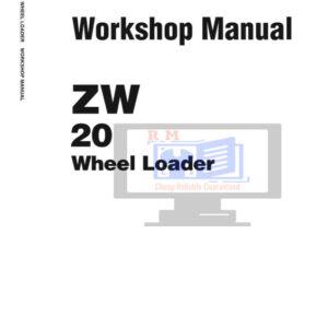 Hitachi ZW20 Wheel loader Workshop Manual