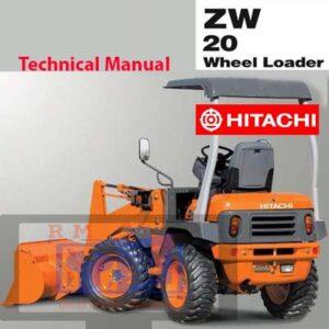Hitachi ZW20 Wheel loader Technical Manual