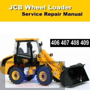 JCB 406, 407, 408, 409 Wheel Loader Service Repair Manual