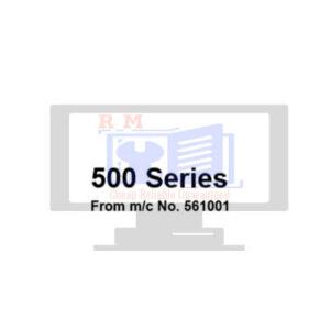 JCB 500 Series Teletruck Workshop Manual