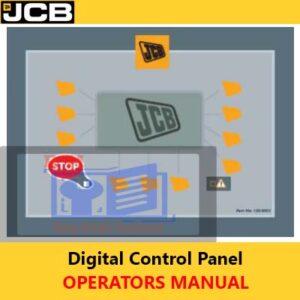 JCB Digital Control Panel Operators Manual