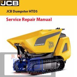 JCB Dumpster HTD5 Service Repair Manual