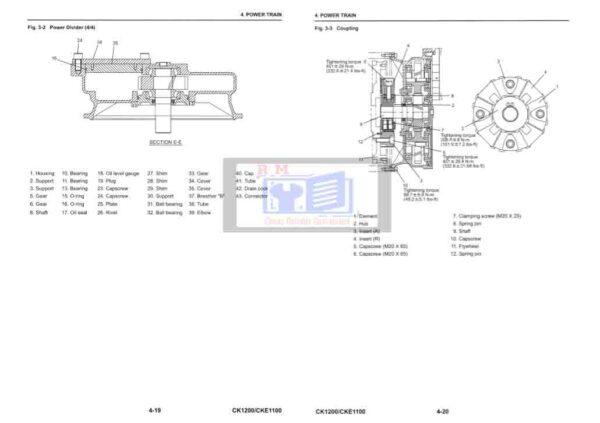 Kobelco Crane CKE1100 Workshop Manual