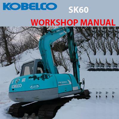 Kobelco SK 60 shop Manual