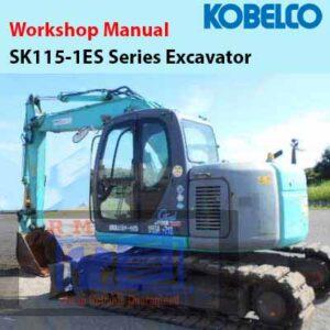 Kobelco SK115-1ES Series Excavator Workshop Manual