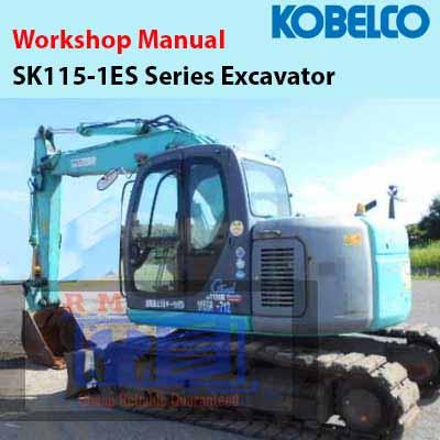 Kobelco SK115SR Shop Manual