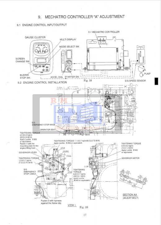 Kobelco SK135SR Workshop Manual