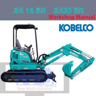 Kobelco SK15 SK20 Mini Excavator Workshop Manual