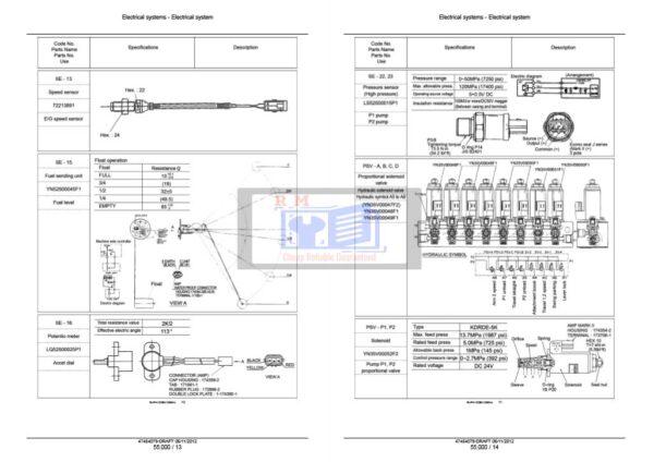Kobelco SK170 mark 9 Service Manual