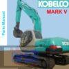 Kobelco SK200 SK200LC Mark V Excavator Parts Manual