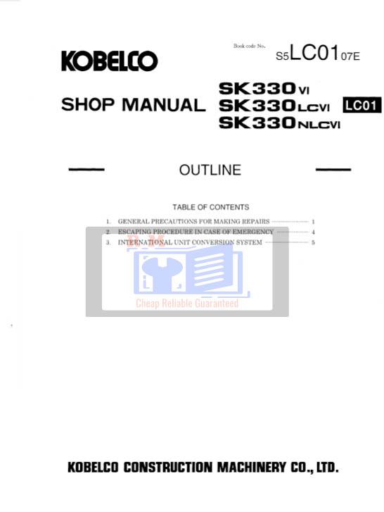 Kobelco SK330LC-VI