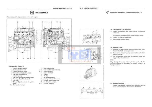 Kobelco SK60 Excavator Workshop Manual