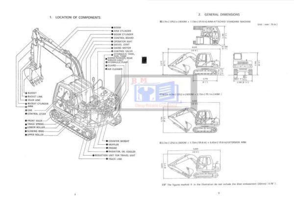 Kobelco SK60 Shop Manual