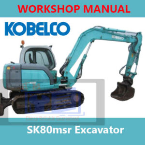 Kobelco SK80MSR Workshop Manual