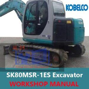 Kobelco SK80MSR-1ES Excavator Workshop Manual