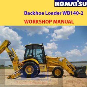 Komatsu Backhoe Loader WB140-2 Workshop Manual