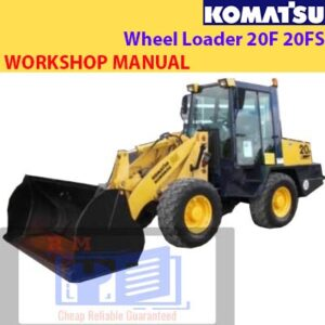Komatsu Wheel Loader 20F 20FS Workshop Manual