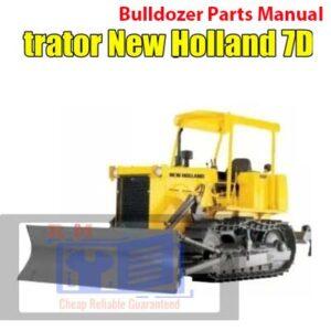 New Holland 7D Bulldozer Parts Manual