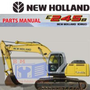 New Holland E245B Excavator Parts Manual