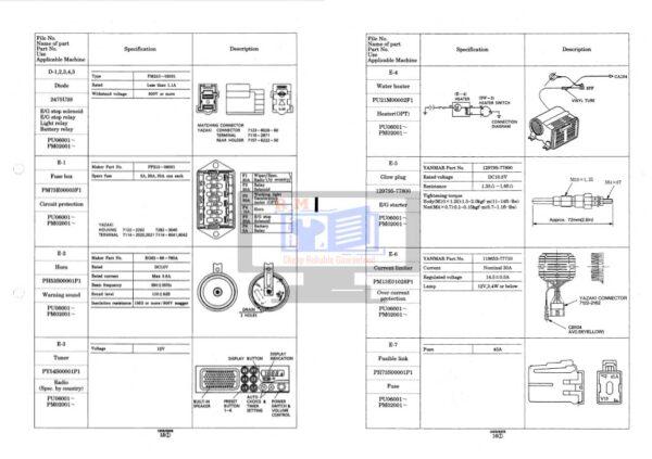 SK15 Mini Excavator Workshop Manual