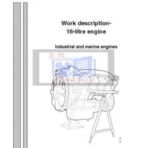Scania Industrial & Marine Engines 16-litre Workshop Manual