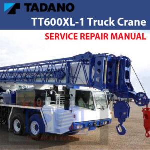 Tadano TT600XL-1 Truck Crane Service Manual