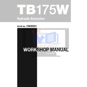 Takeuchi TB175W Hydraulic Excavator Service Repair Manual