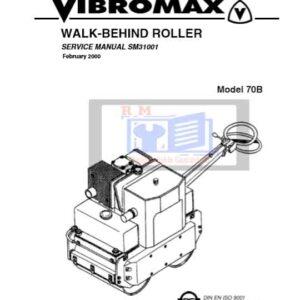 JCB Vibromax Roller 70b Service Repair Manual
