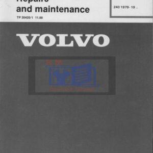 Volvo D20 D24 Engine Service Manual