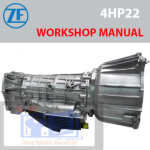 ZF Transmission 4HP22 Workshop Manual